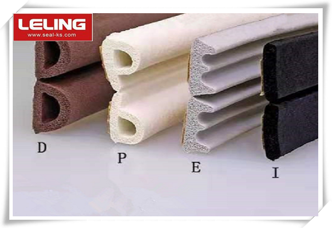 EPDM Foamed Sealing Strip with Adhesive Tape